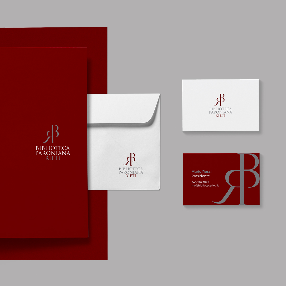 constant design logo biblioteca paroniana Rieti grafica Rieti logo Rieti studio grafico Rieti biglietti da visita Rieti