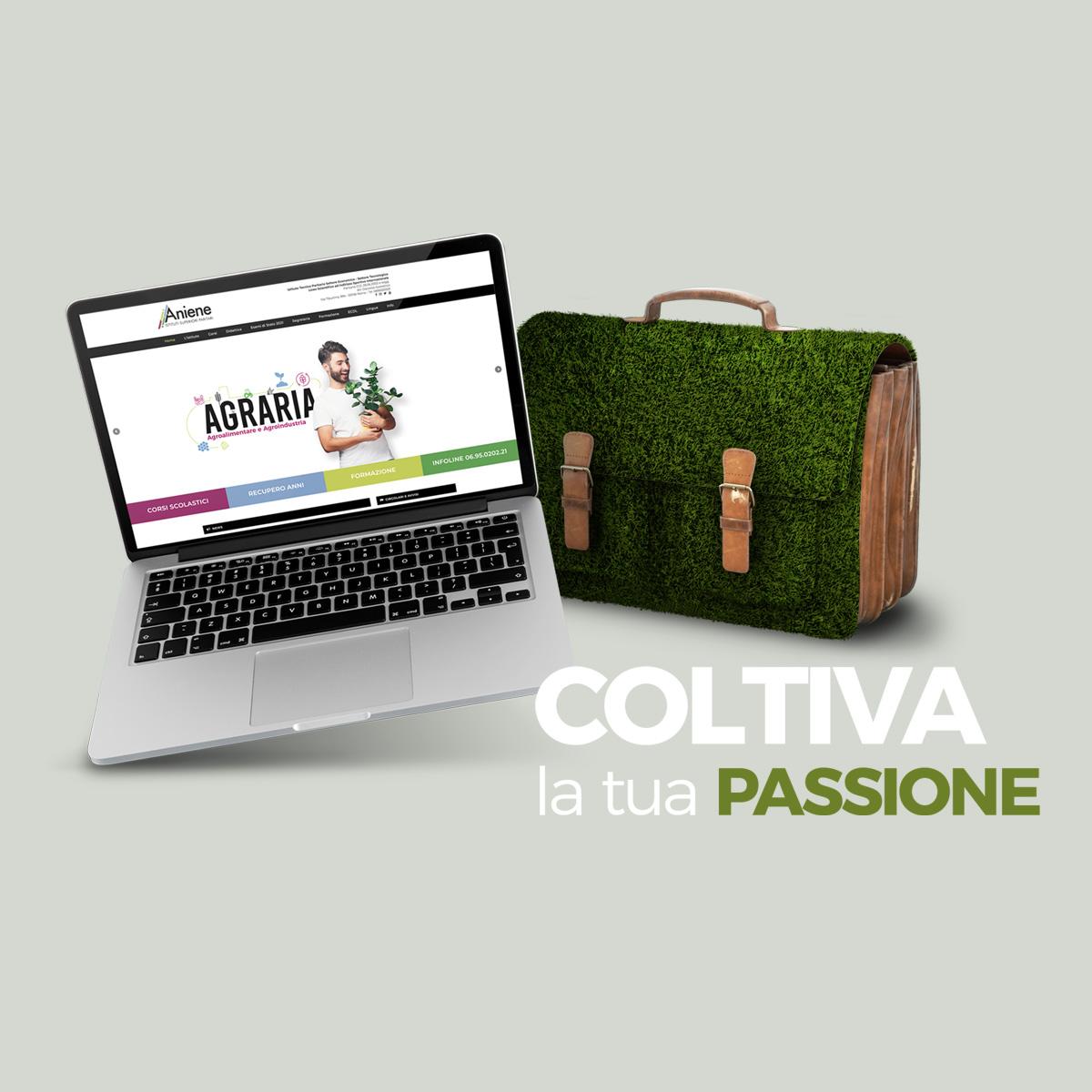 istituto aniene realizzazione sito web Roma