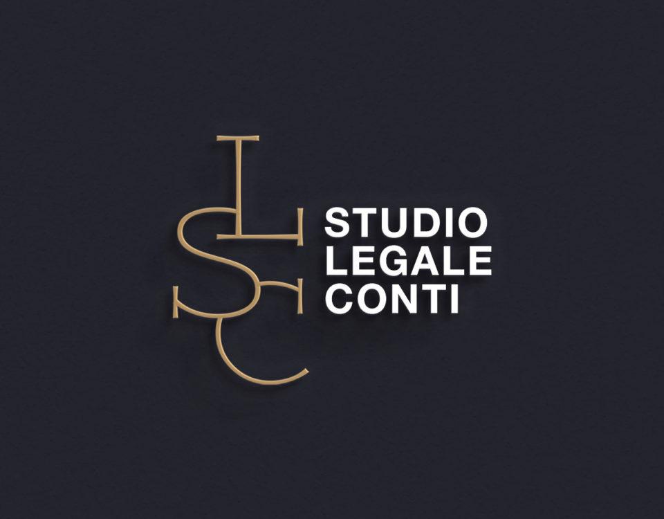 constant design realizzazione logo immagine coordinata e sito web Studio legale Conti Rieti siti web Rieti logo Rieti