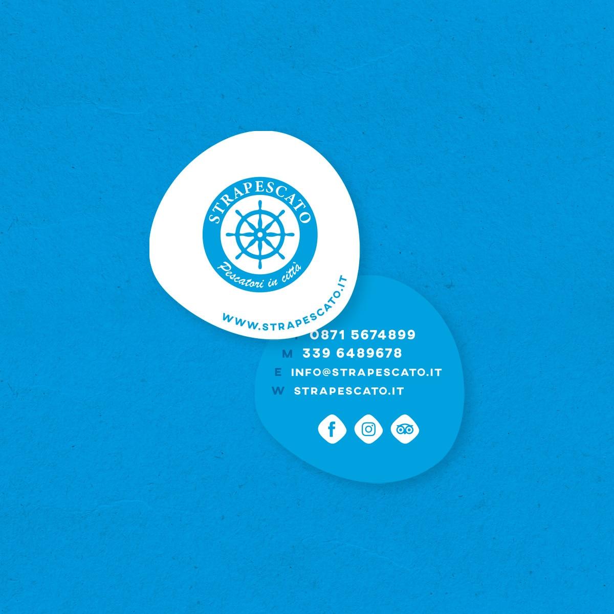 constant design realizzazione biglietti da visita Strapescato L'Aquila siti web L'Aquila