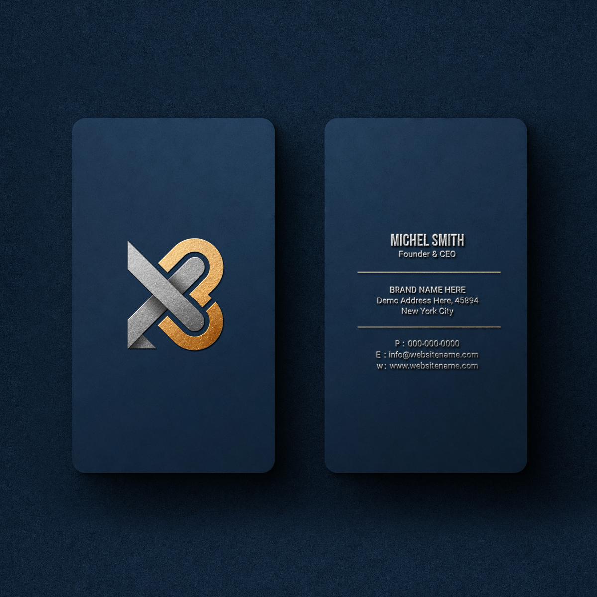realizzazione biglietti da visita X3 Terni grafica Terni logo Terni